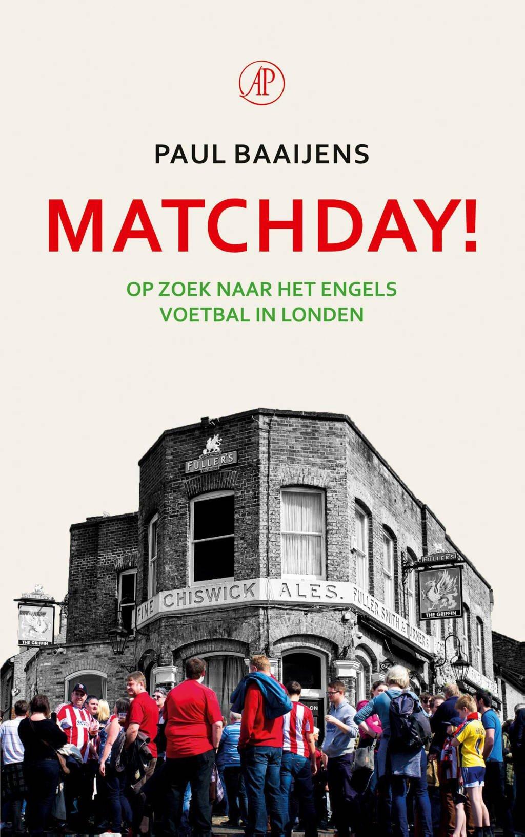 Matchday! - Paul Baaijens
