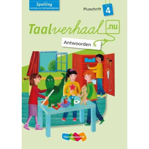Spelling Antwoorden Plusschrift Groep 4 Taalverhaa