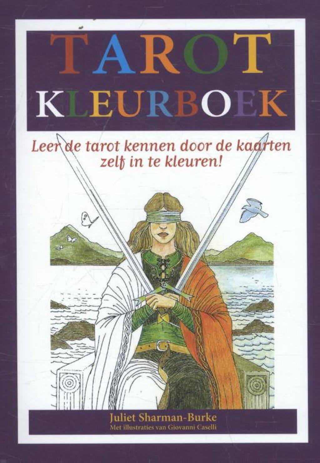 Het Tarot kleurboek - Juliet Sharman-Burke