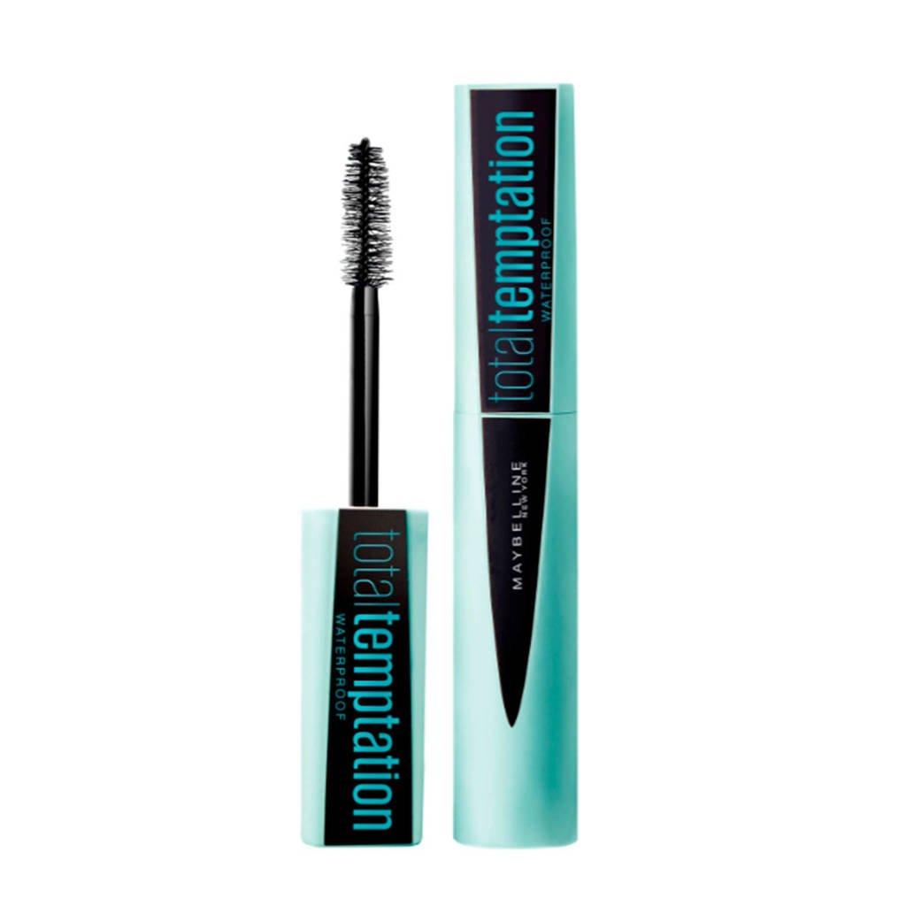 Maybelline New York Total Temptation waterproof mascara, Zwart