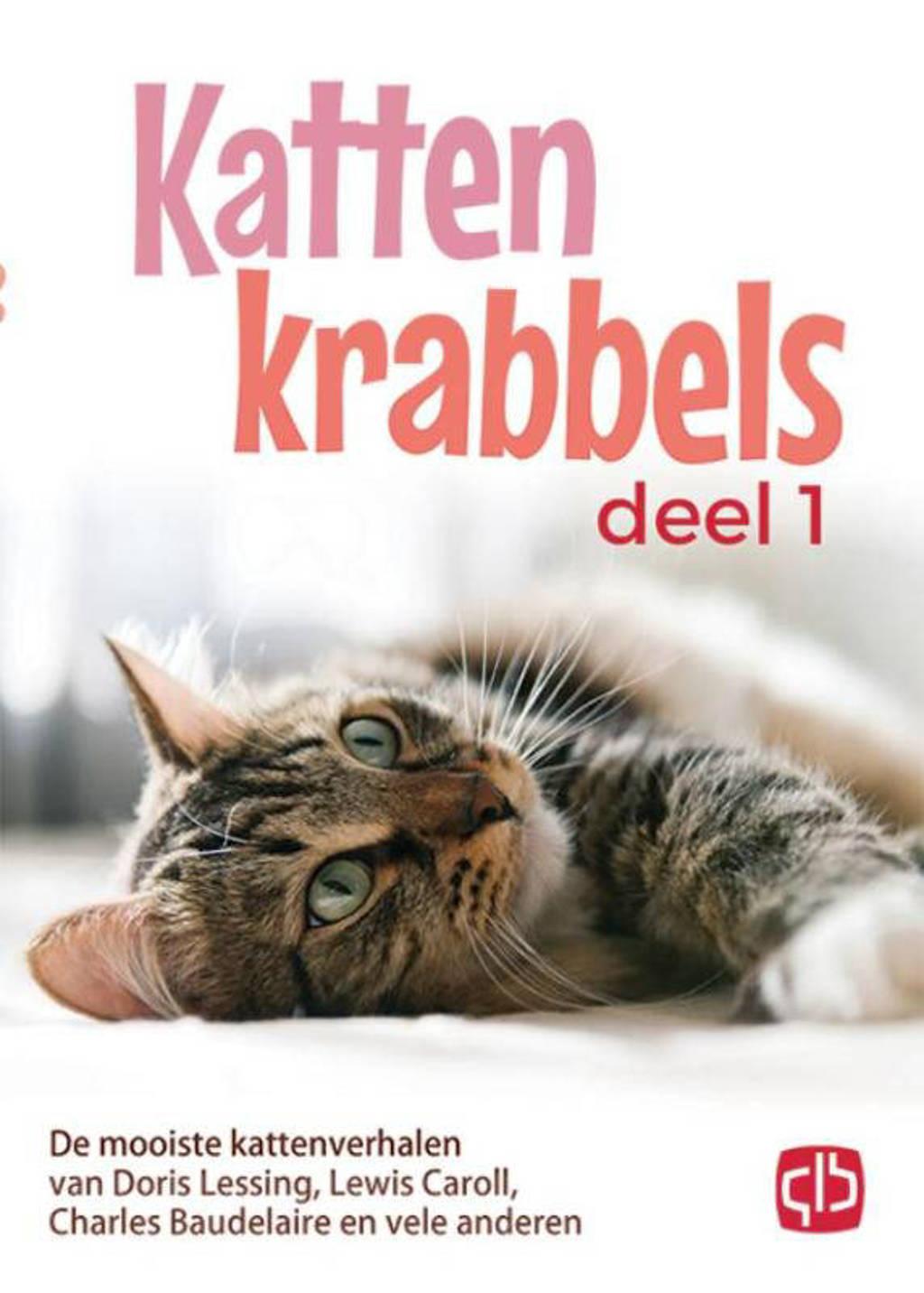 Kattenkrabbels 1 De mooiste kattenverhalen van John Bower, Lewis caroll, W.L. Alden en vele anderen