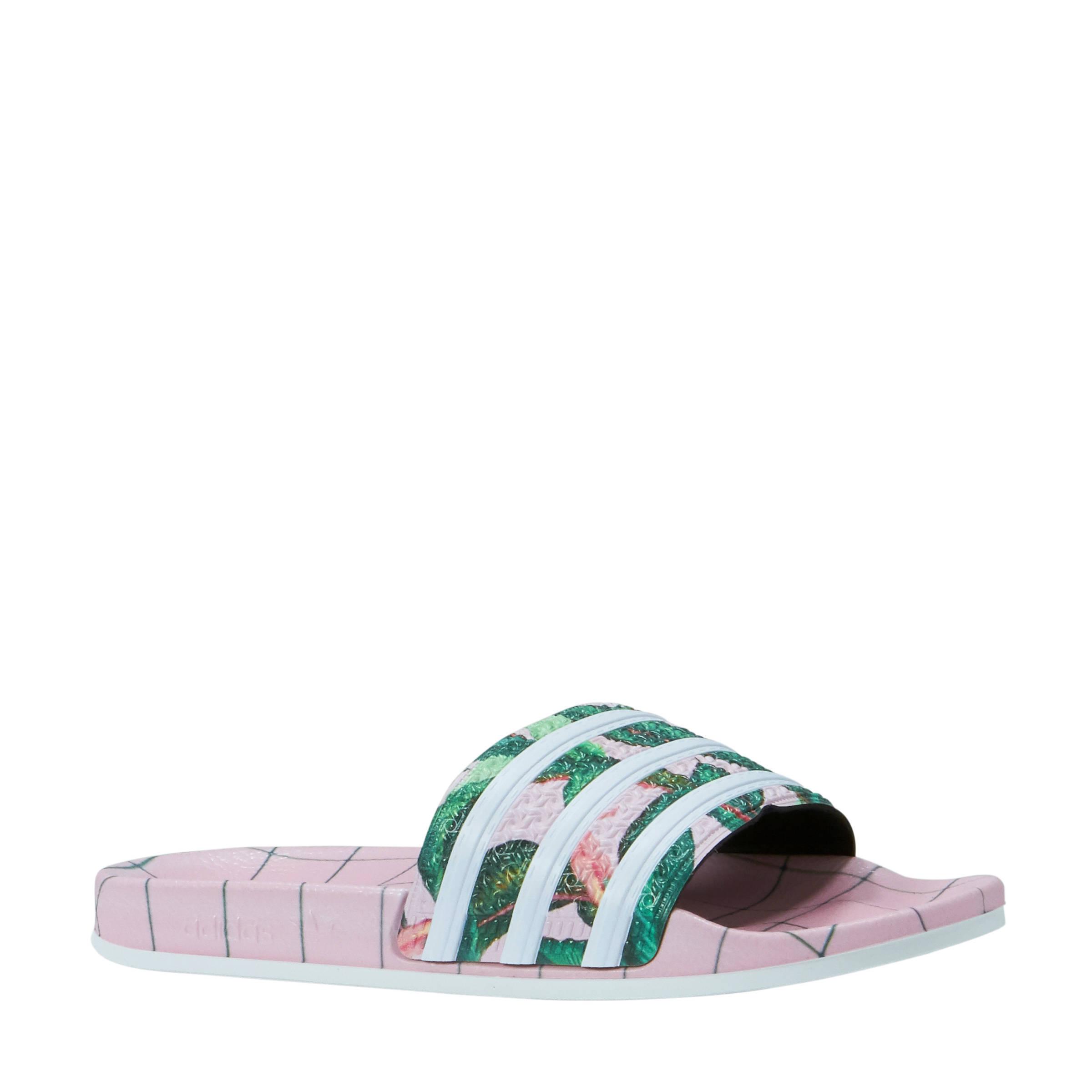 adidas originals Adilette W badslippers | wehkamp