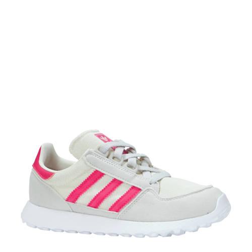 Forest Grove C suède sneakers lichtbeige-roze