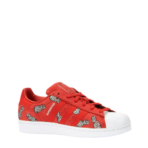 Superstar sneakers rood
