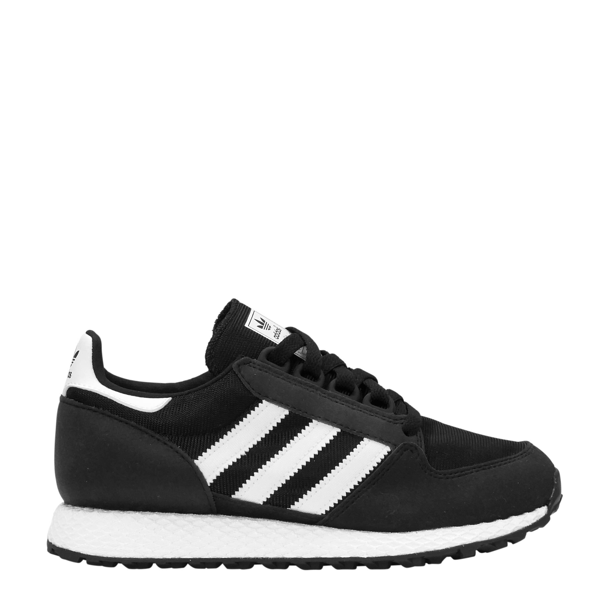Forest Grove W suède sneakers zwart