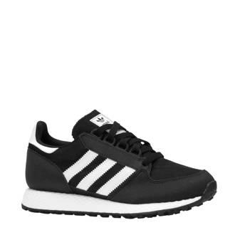 originals Forest Grove W suède sneakers zwart