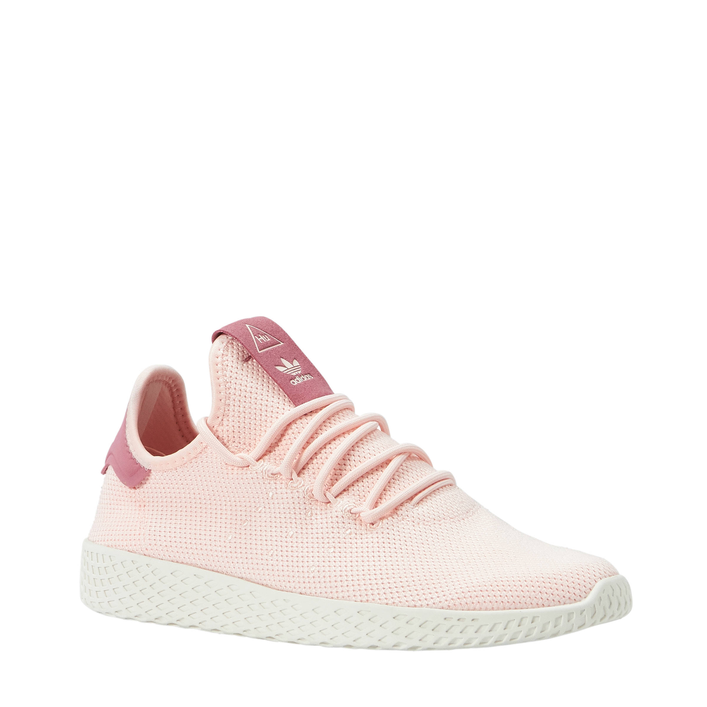 adidas originals PW Tennis HU sneakers lichtroze | wehkamp