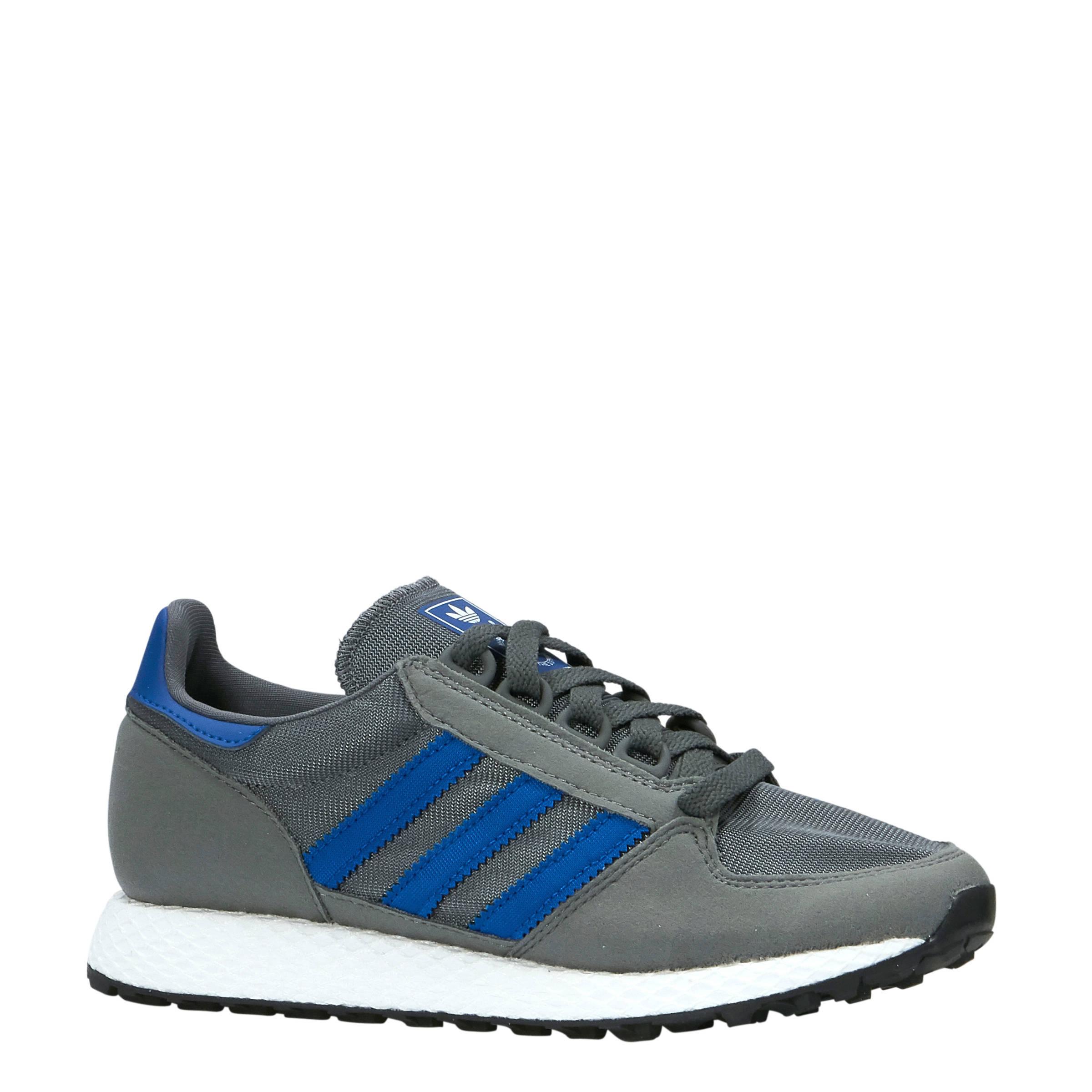 Forest Grove W suède sneakers grijs/blauw