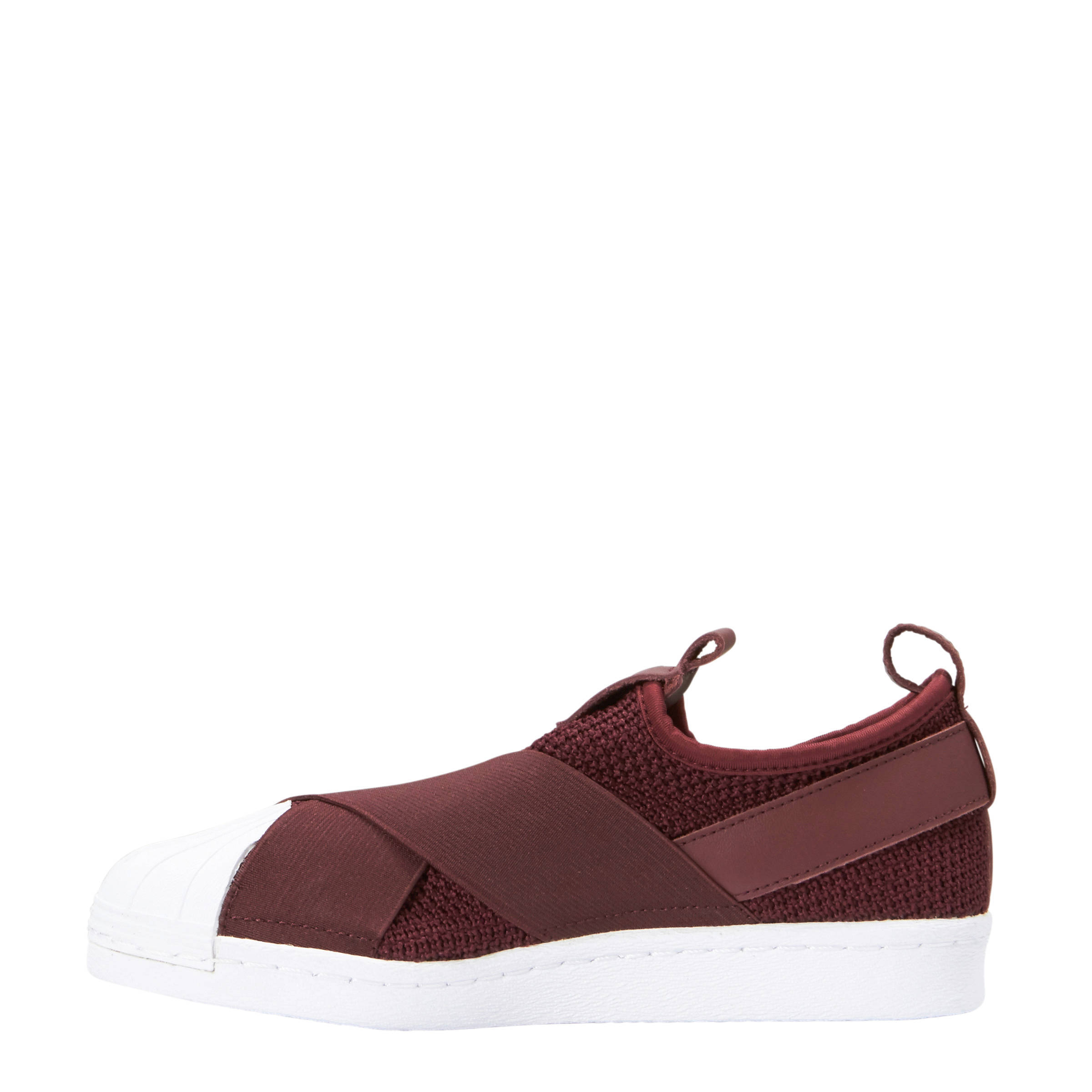 adidas sneakers bordeaux rood