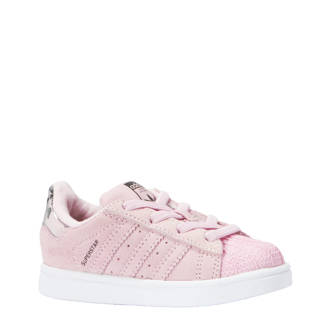 originals Superstar EL I sneakers roze
