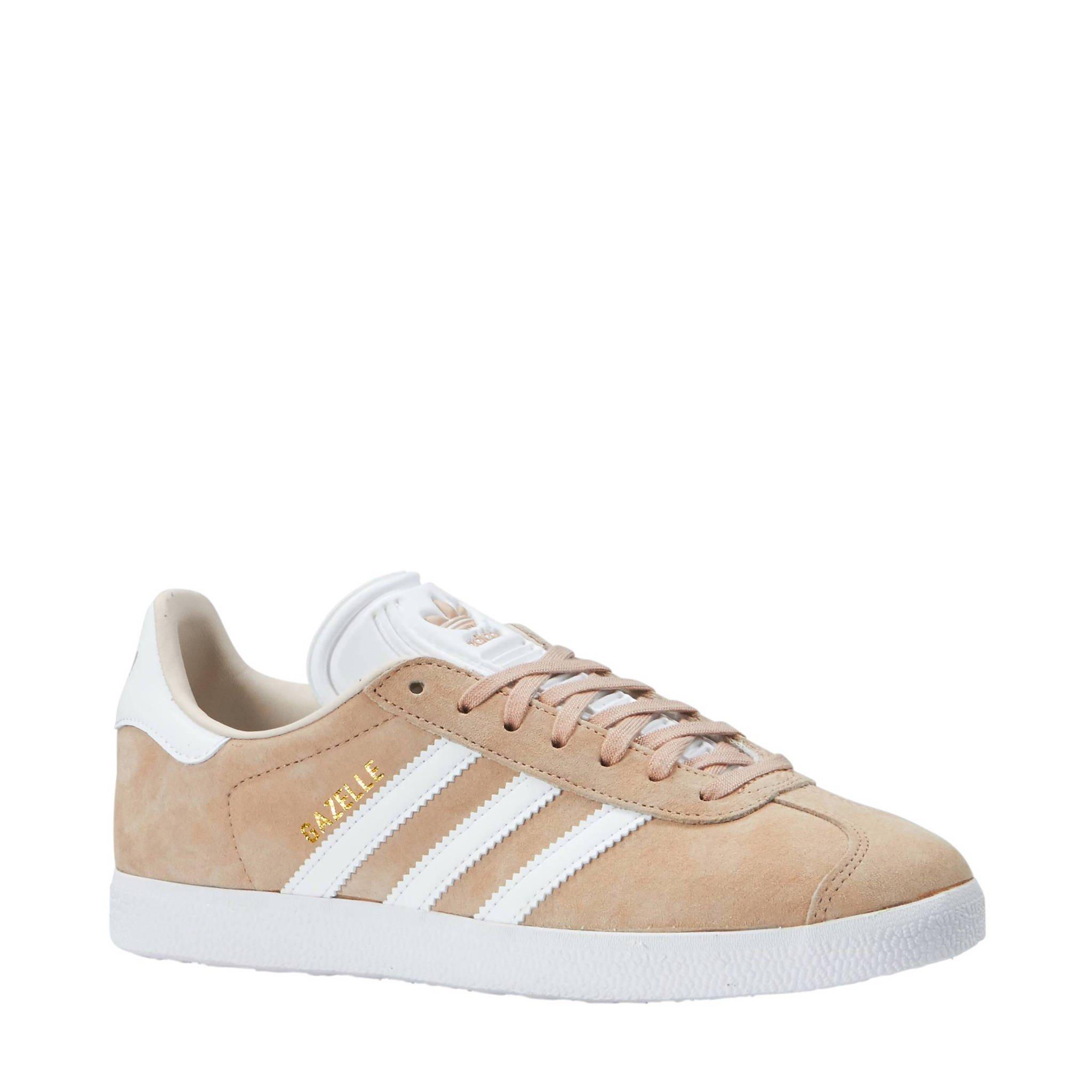 6ee8a1756f0 adidas originals Gazelle sneakers zand | wehkamp