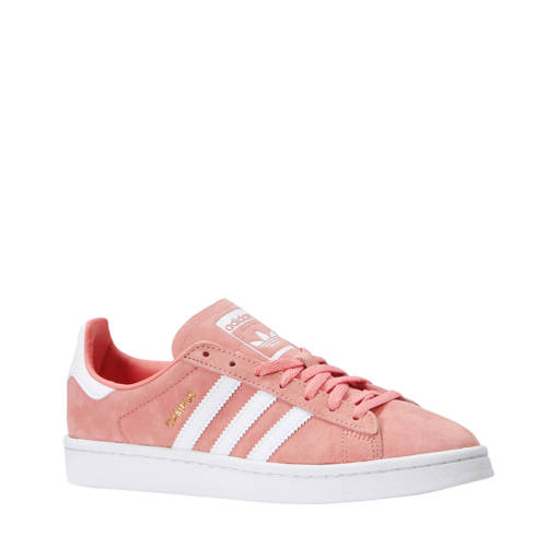 Campus nubuck sneakers roze