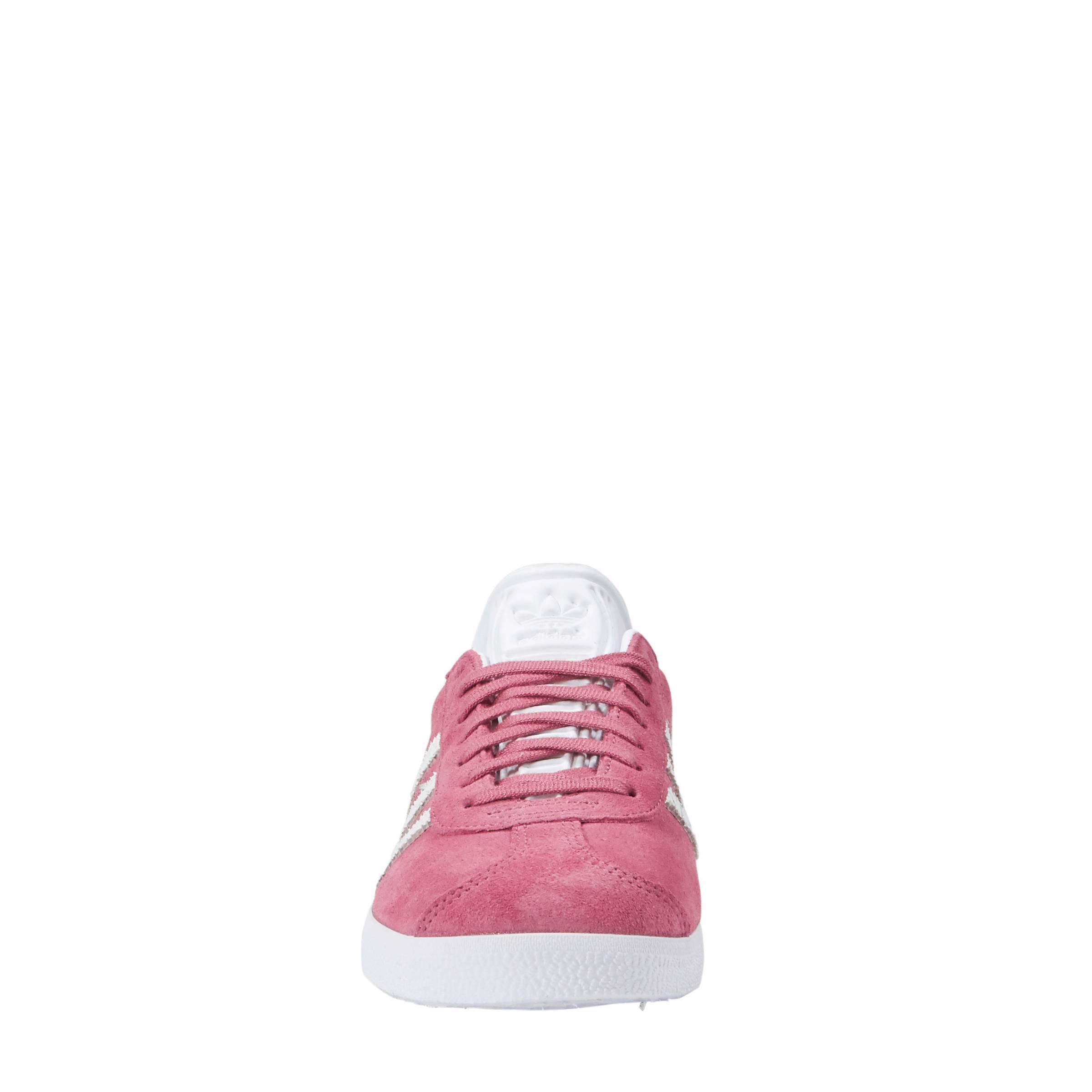 adidas originals Gazelle sneakers roze | wehkamp