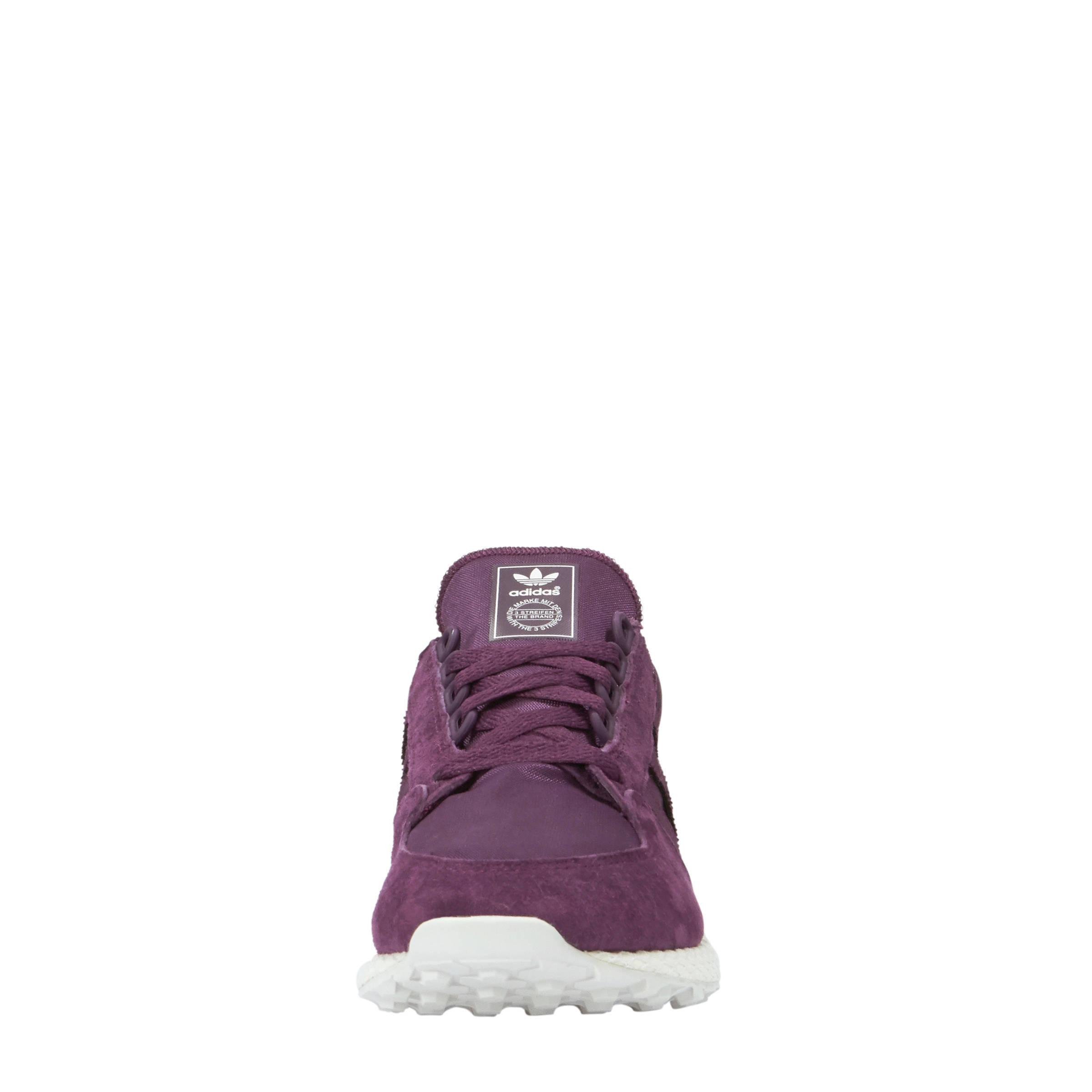 adidas schoenen paars