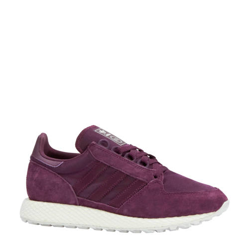 Forest Grove W suède sneakers paars