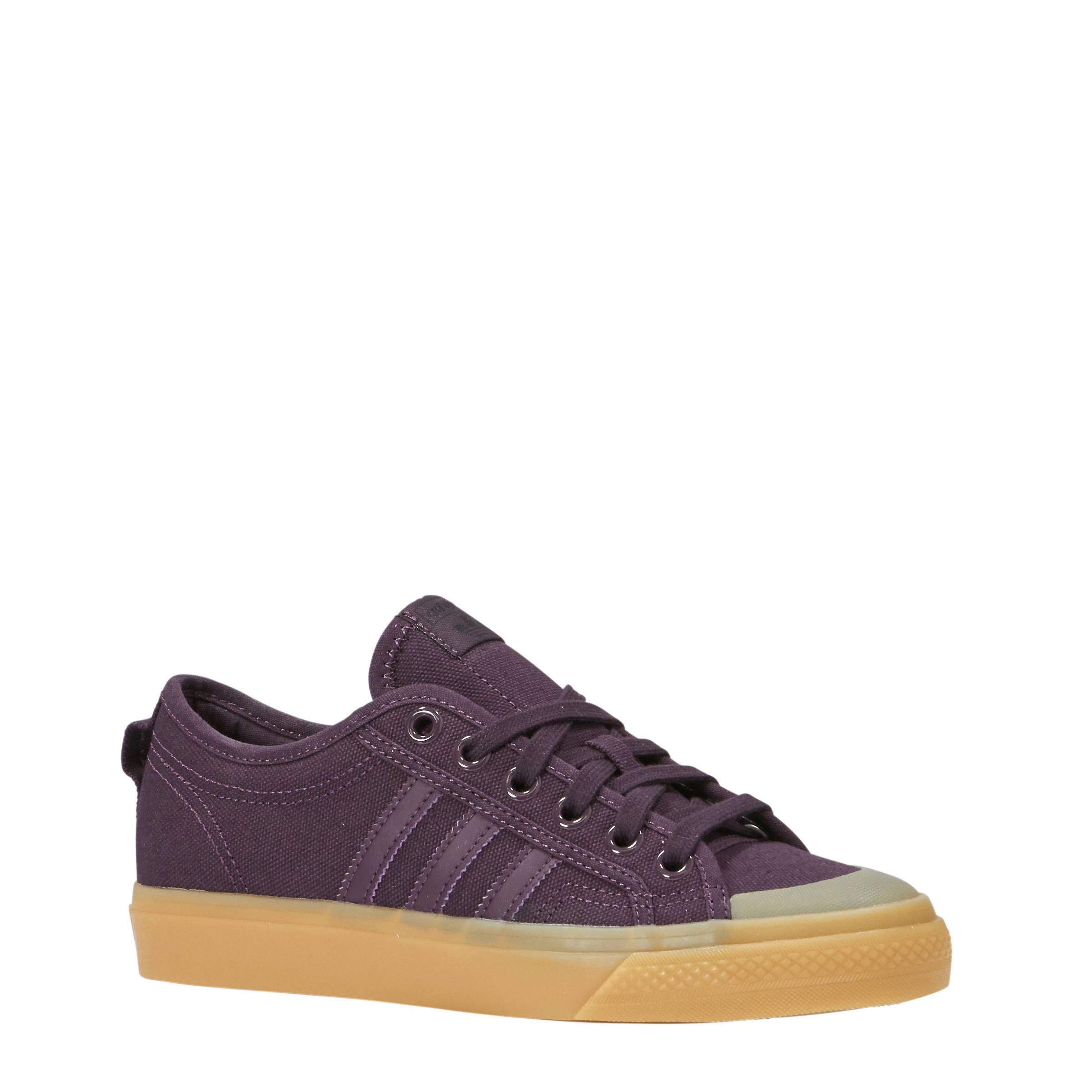 adidas sneakers dames bordeaux rood