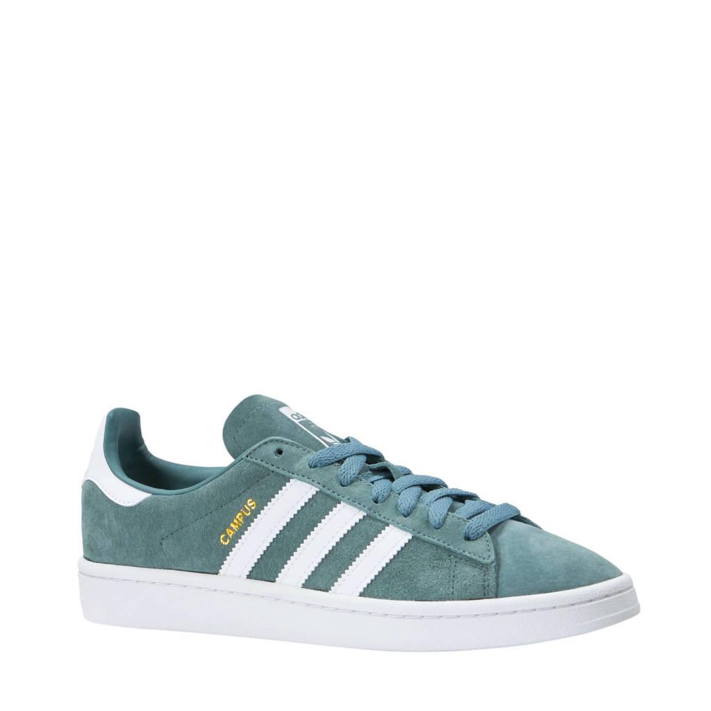 681daab24b5 adidas originals Campus suède sneakers groen, Groen/wit