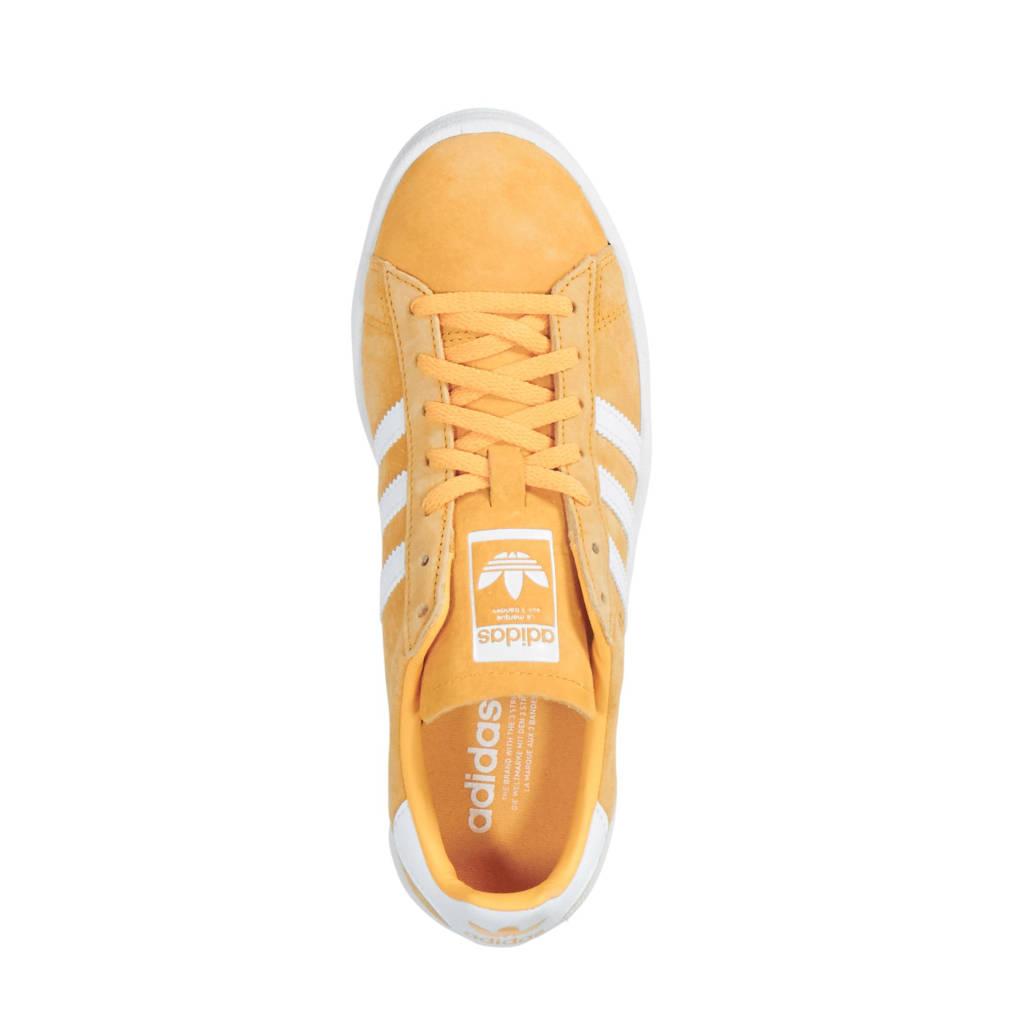 best authentic ca7e1 f3d41 adidas originals Campus nubuck sneakers okergeel, Okergeel