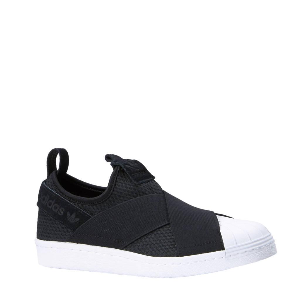 8e7dd43bbc5 adidas originals Superstar Slip-On zwart, Zwart/wit