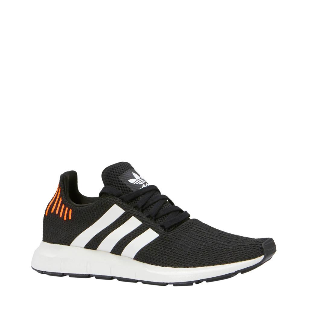 423c32731de adidas originals Swift Run sneakers, Zwart/lichtgrijs