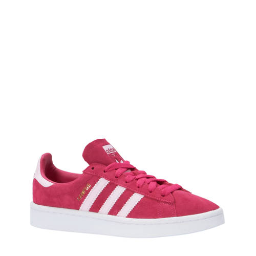 Campus J sneakers roze-wit