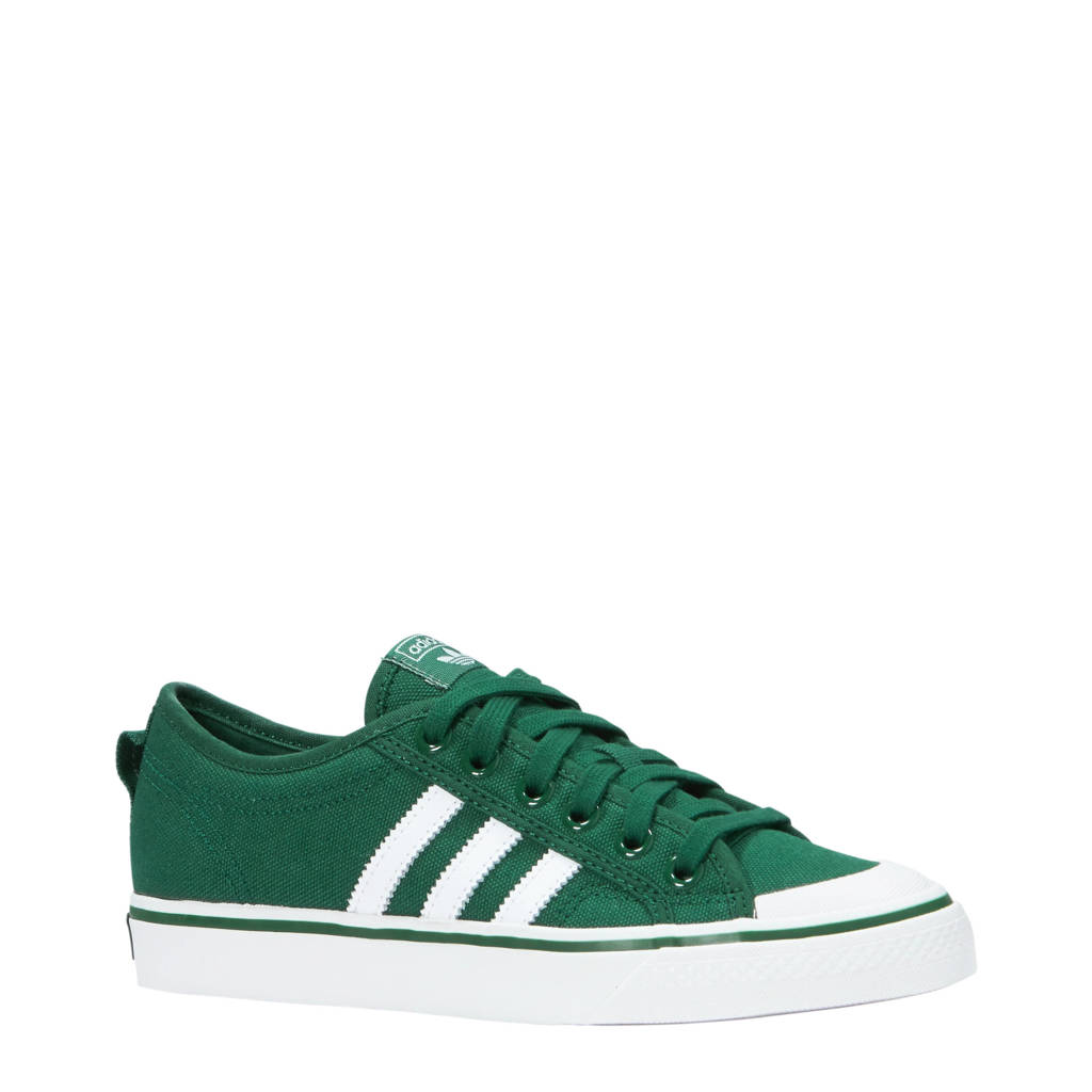 adidas originals  Nizza sneakers, Groen/wit