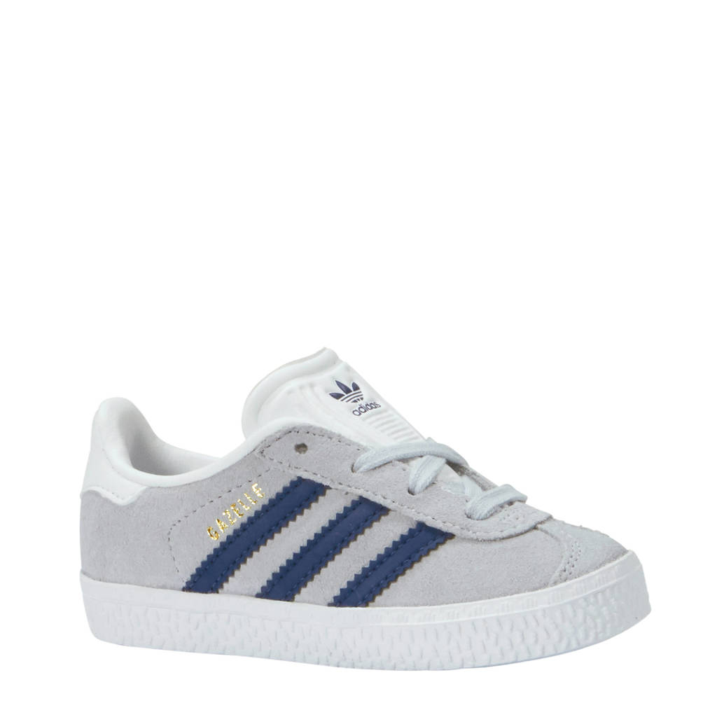 adidas originals  Gazelle I sneakers, Lichtgrijs/donkerblauw