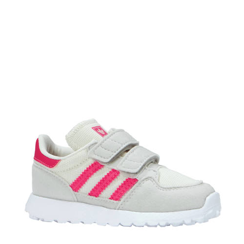 Forest Grove CF I suède sneakers lichtbeige-roze