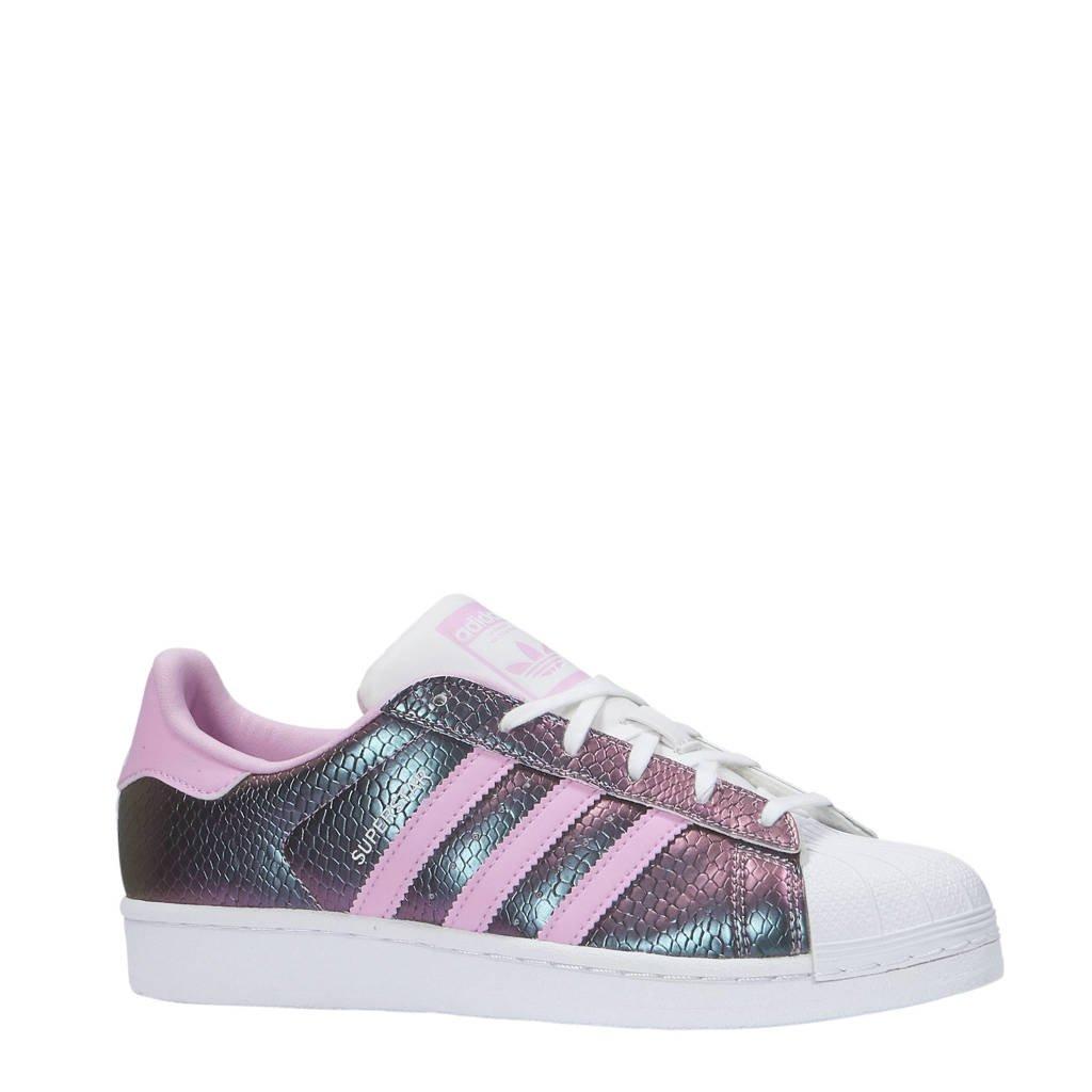 00d79d02f46 adidas originals Superstar sneakers, Paars/roze/wit