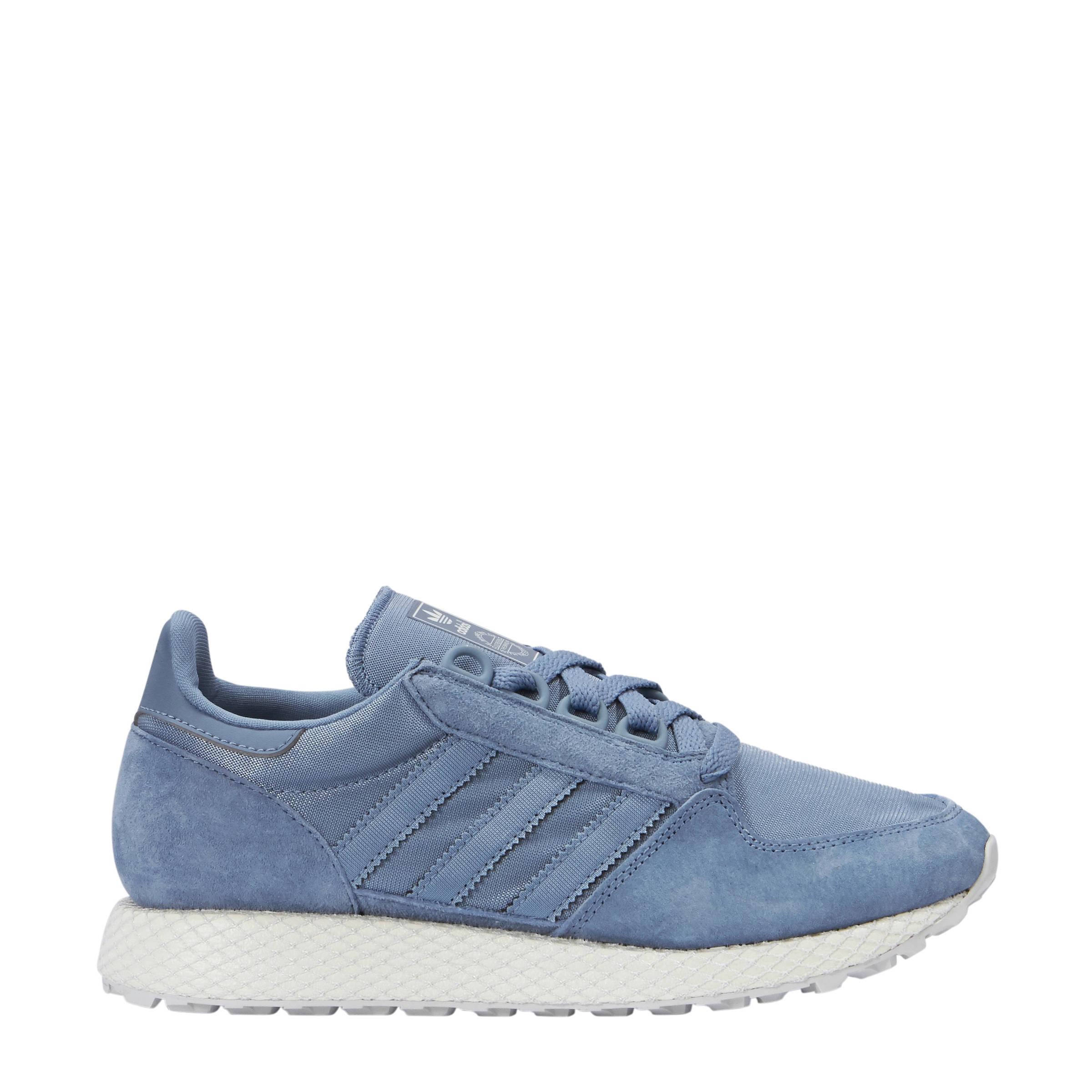 Forest Grove W suède sneakers grijsblauw