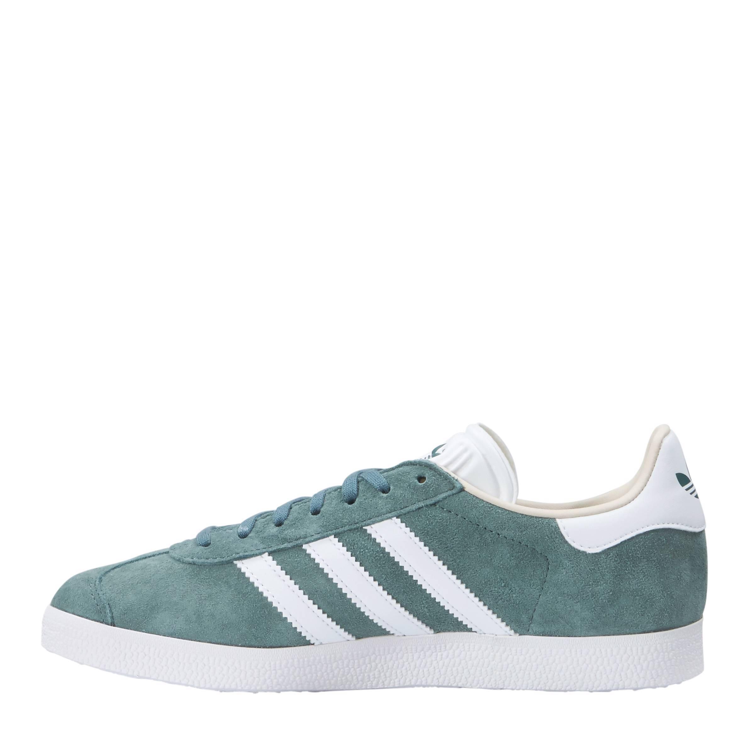 617a7ea3d24 adidas originals Gazelle sneakers groen | wehkamp