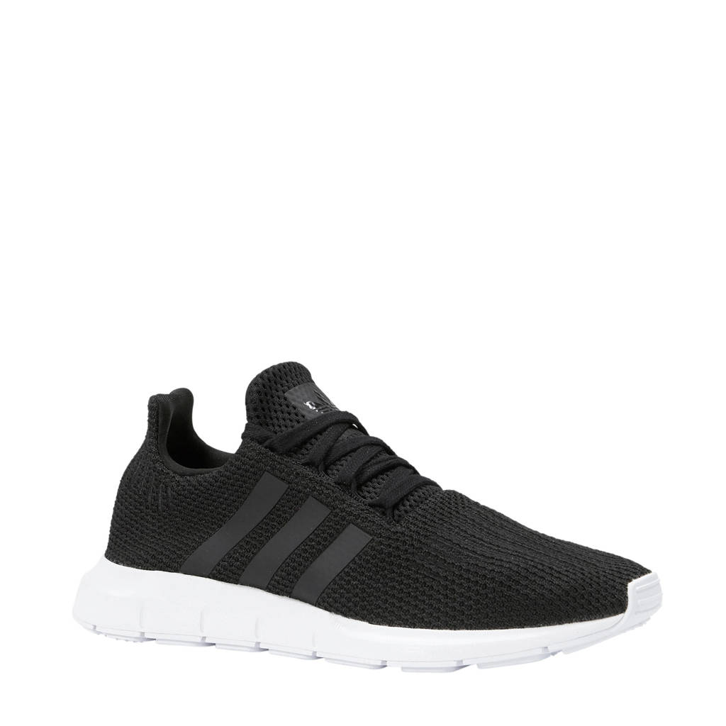 adidas originals  Swift Run sneakers, Zwart/wit