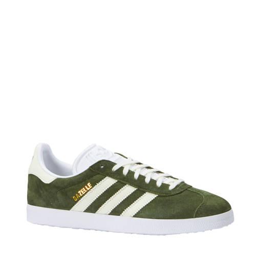 Gazelle sneakers donkergroen