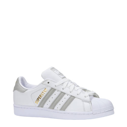 Superstar sneakers wit-goud