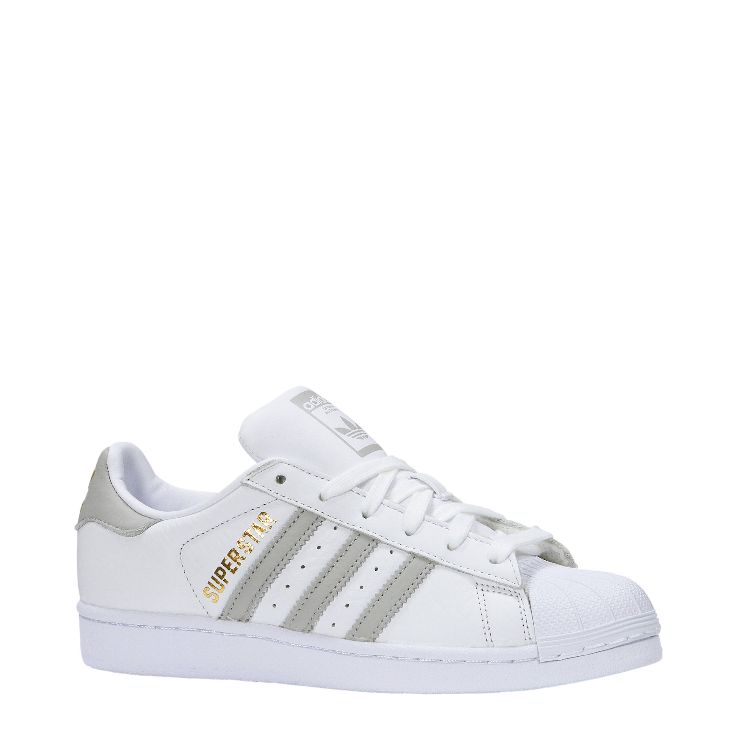 adidas superstar wit goud
