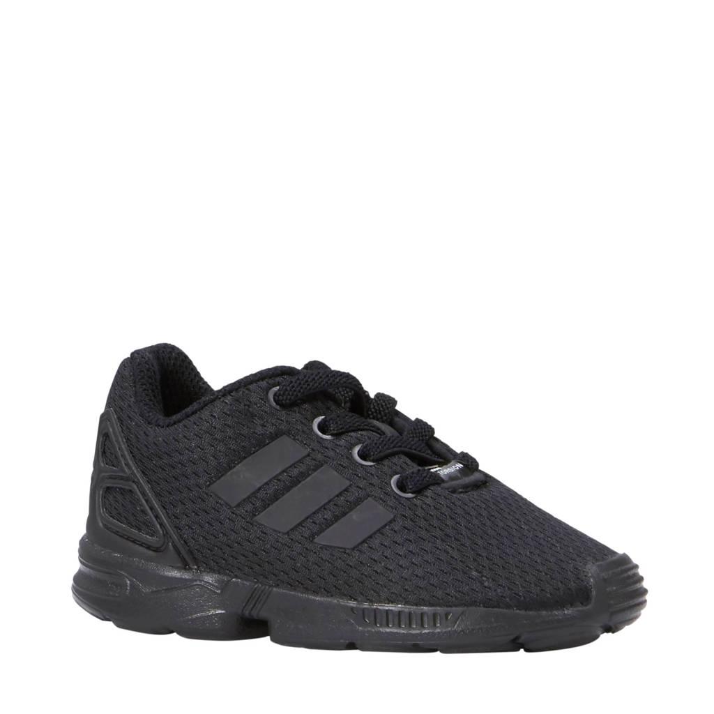 adidas Originals   ZX Flux EL I sneakers, Zwart/Zwart