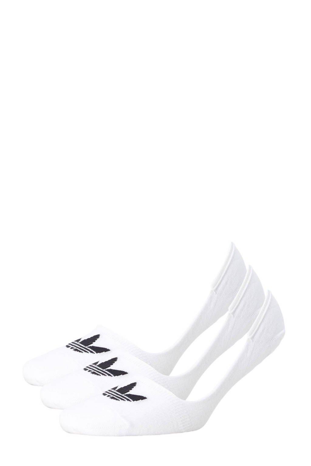 adidas originals   sneakersokken, wit/ zwart