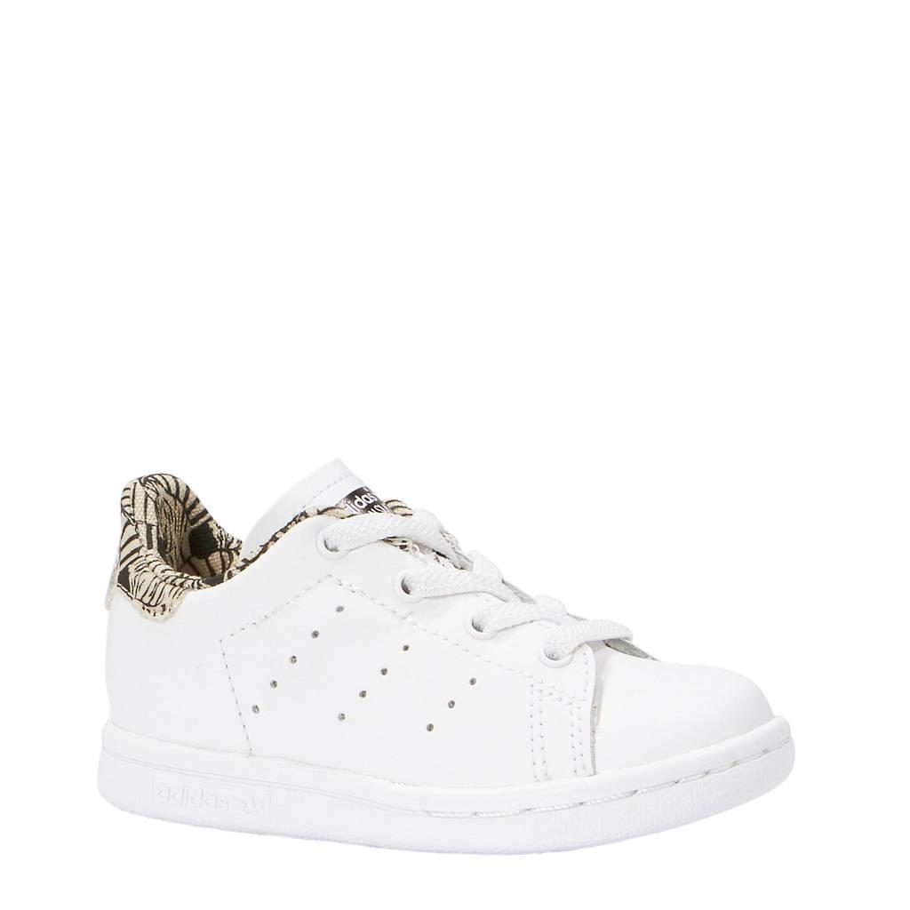 adidas originals Stan Smith EL I sneakers kids, Wit/beige