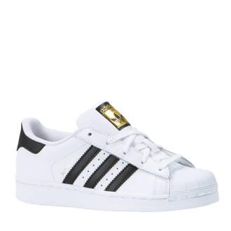 originals  Superstar sneakers wit/zwart