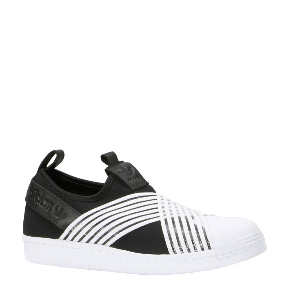 adidas originals  Superstar Slip-On, Zwart/wit