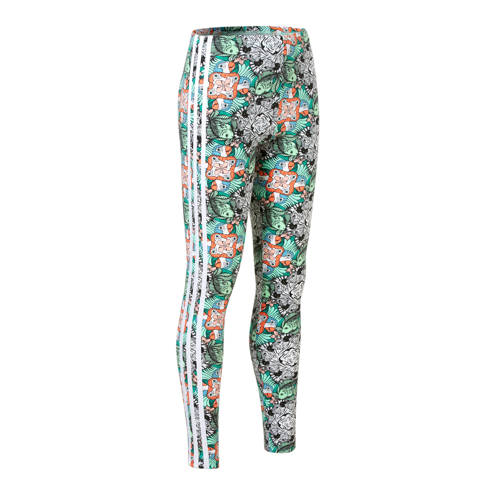 legging met all-over print mintgroen