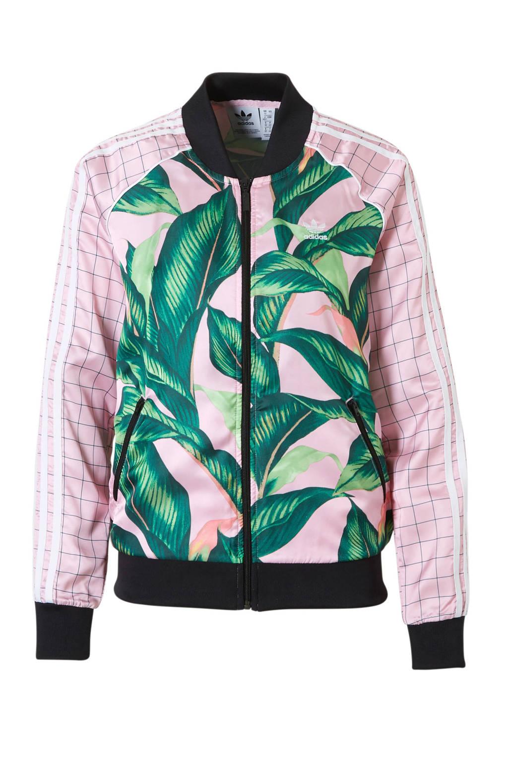 20482ce56f2 adidas originals vest, Roze/groen/zwart