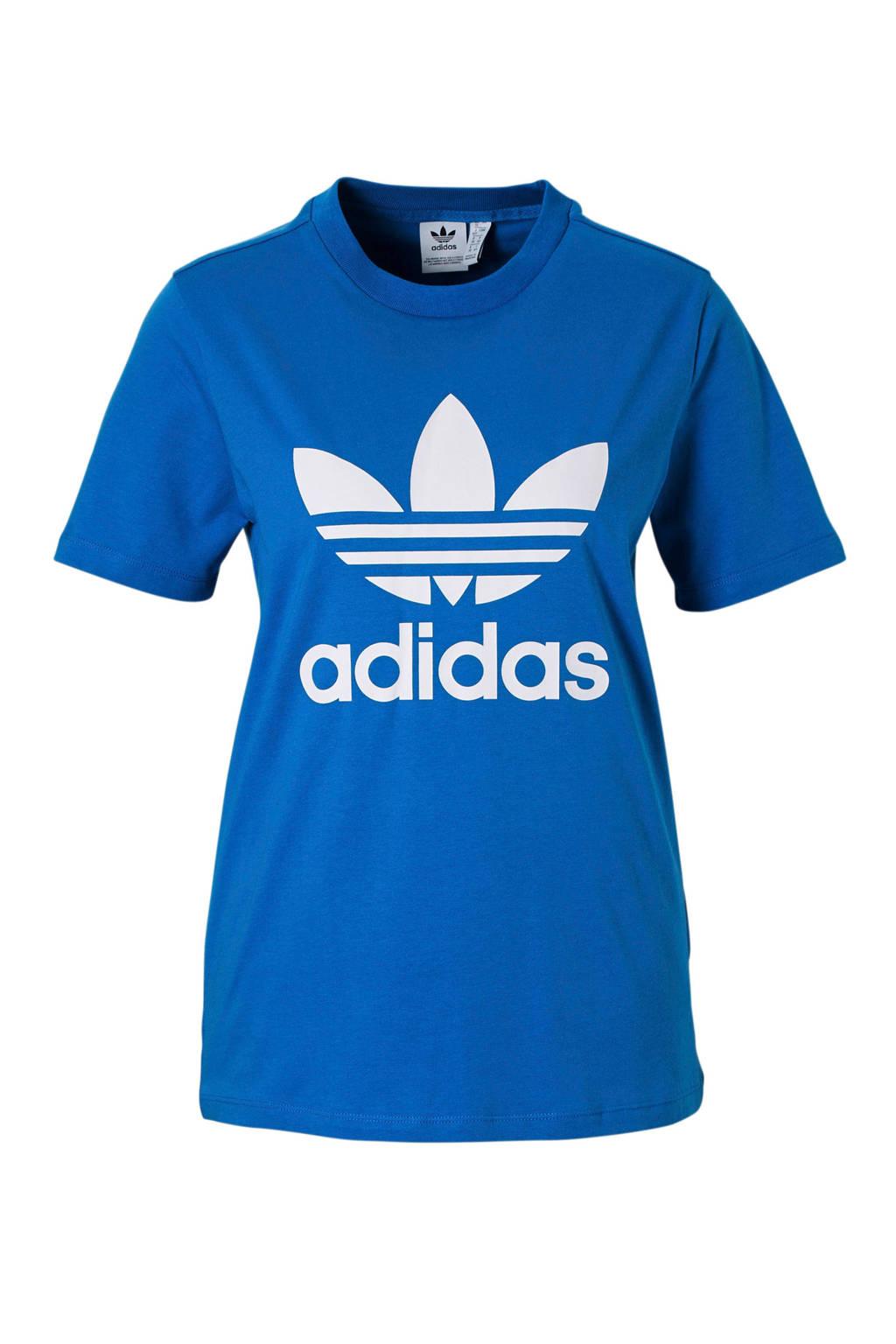 a929e720c7d adidas originals T-shirt blauw, Blauw, Dames