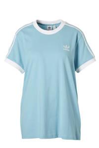adidas / T-shirt lichtblauw