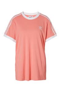 adidas / T-shirt zalmroze
