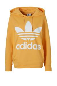 adidas / hoodie okergeel