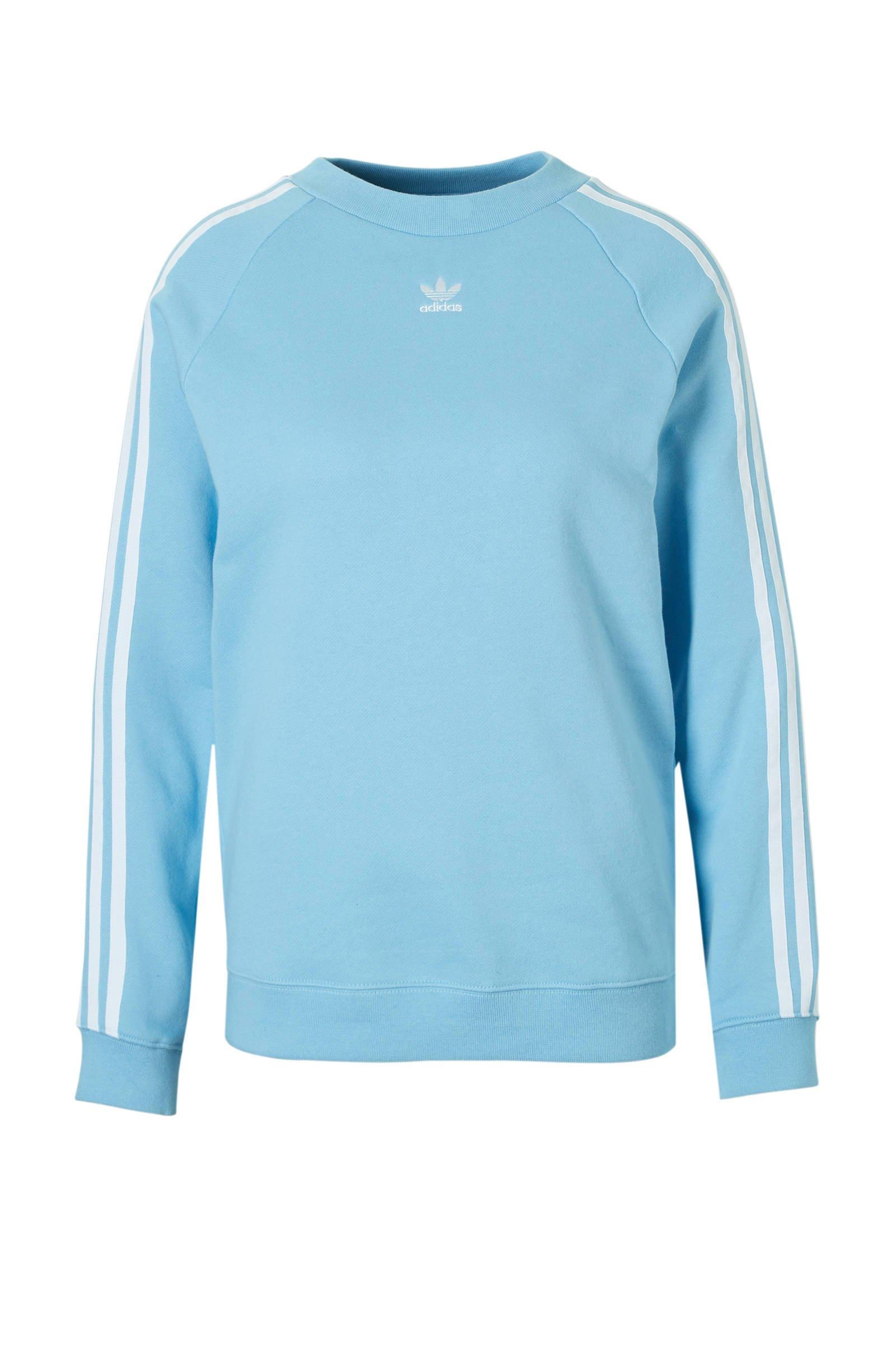 adidas Originals sweater blauw | wehkamp