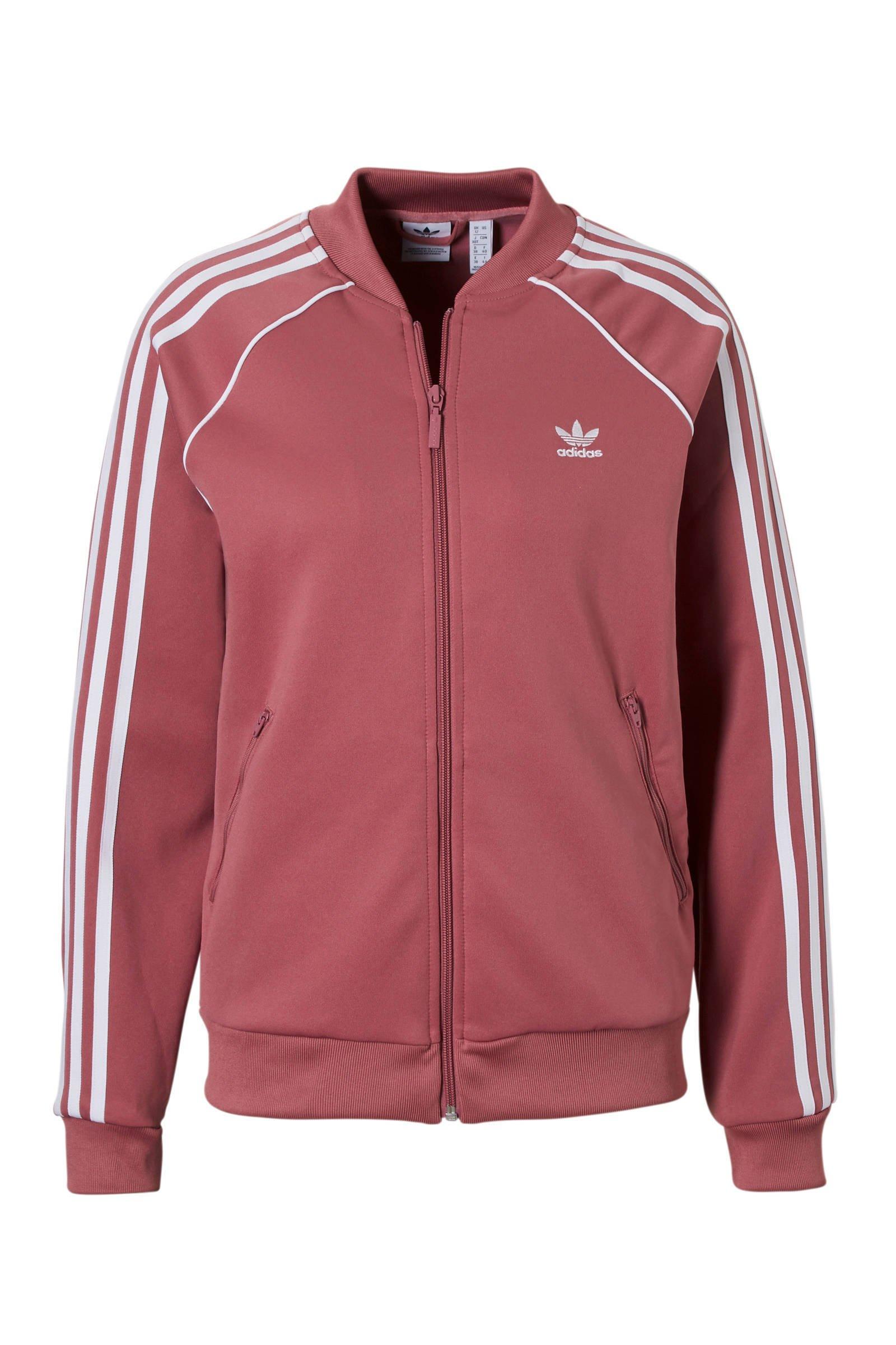 adidas Originals vest oudroze | wehkamp