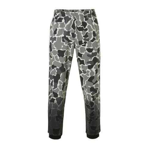 camouflage joggingbroek grijs