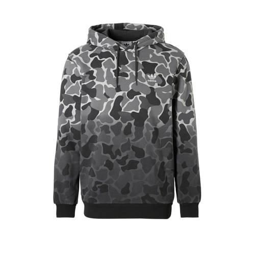 camouflage hoodie grijs
